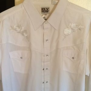 Other - NWT Cowboy/ Western looking shirt